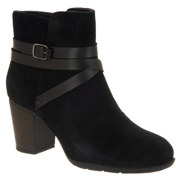 Suede Ankle Boots Enfield Coco Size 8